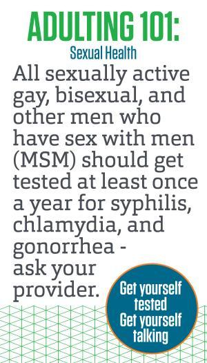 Mens sexual health tests